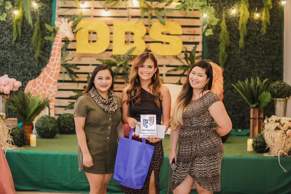 together with DBS President Julie Alontaga and Ms. Ria Jose